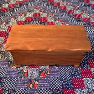 Heirloom Quality Handmade Maple Jewelry Box